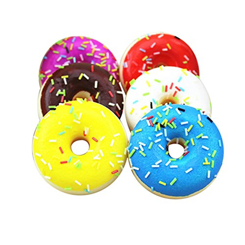 MINGXING Slow Rising Squishy Toys Jumbo, Doughnut Ice Cream Kawaii Squishy Toys or Stress Relief Squeeze Toys Party Favors for Kids Adults Decorative Props