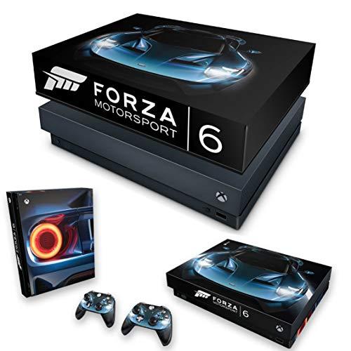Capa Anti Poeira e Skin para Xbox One X - Forza Motor Sport 6