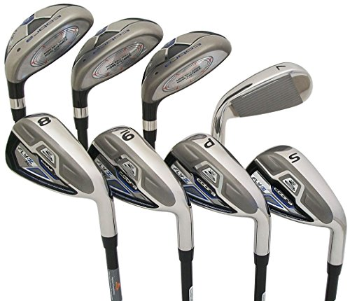 Review Of Cobra New Golf Fly-Z XL Combo 4-PW+SW Hybrid Irons Graphite Regular