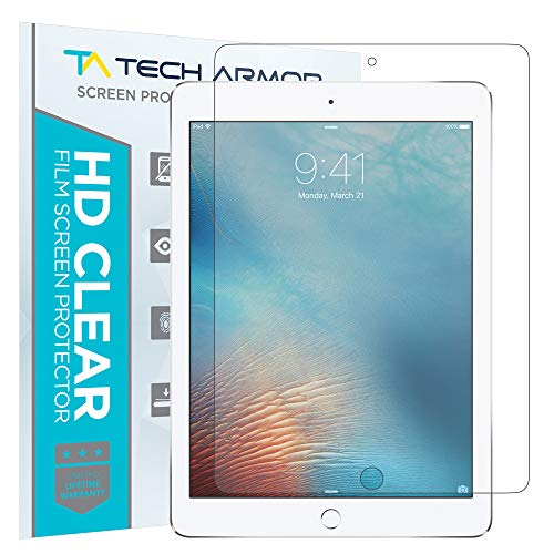 Tech Armor - Anti-Glare/Anti-Fingerprint Film Screen Protector for Apple iPad Pro (9.7 inch) [2-Pack]
