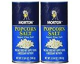 Morton popcorn salt 3.75-oz, Pack of 2
