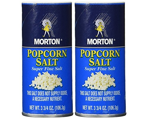 Cheap Morton popcorn salt 3.75-oz, Pack of 2