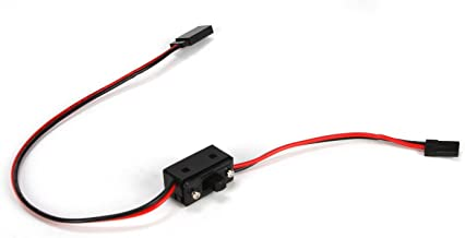 Losi HD On/Off Switch w/20AWG Wre&Gld PlatedPlugs5IVE-T, LOSB0897