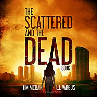 The Scattered and the Dead audiobook cover art