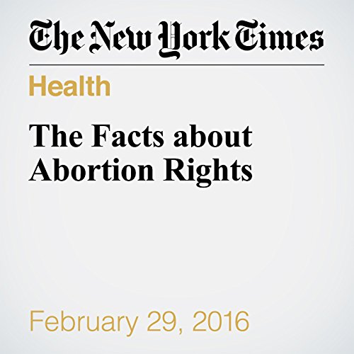 The Facts about Abortion Rights audiobook cover art