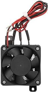Ventilador del calentador de aire, 110 V Mini calentador de aire con temperatura constante Aislamiento PTC Calentador de termistor con ventilador para espacios pequeños(12V)