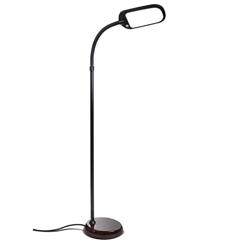 Ordinaire Brightech Litespan Slim   LED Reading U0026 Craft Floor Lamp   Dimmable U0026 Light  Color Adjustable