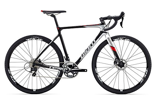Giant TCX Advanced Pro 2 28 Zoll Cyclocross Schwarz/Silber (2016), 53