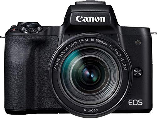 Canon EOS M50 nera KIT con obiettivo 18-150 IS STM
