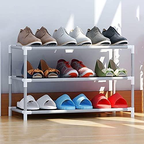 WWWFZS Zapatero Zapatero de Tela no Tejida Zapatero extraíble Ahorro de Espacio Organizador de Zapatos Armarios Zapatero Almacenamiento de Zapatos Muebles para el hogar Zapatero