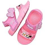 [Joah Shop] ミニーマウス 軽量 EVA サンダル キッズ 女の子 ピンク 夏用 シューズ (16.0 cm, ミニー&デイジー) [並行輸入品]