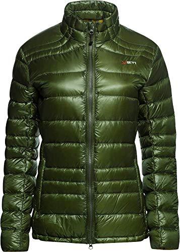 YETI Desire W's Lightweight Down Jacket Damen Daunenjacke Jacke, wild Forest, Größe XS