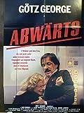 Abwärts - Götz George - Wolfgang Kieling - Filmposter A1