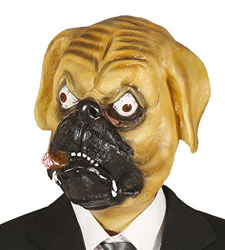Masque de chien de caoutchouc pour déguiser les animaux