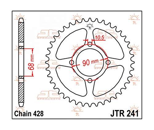 Compatible con 80 MTX / 125 MTX – Corona de 53 dientes – JTR241.53.
