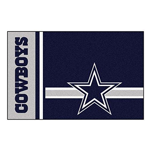 FANMATS NFL Dallas Cowboys Nylon Face Starter Rug , 19'x30'