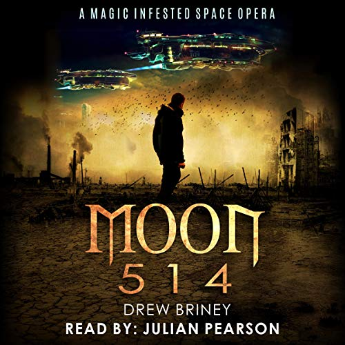 Moon 514: Blaze and the White Griffon audiobook cover art