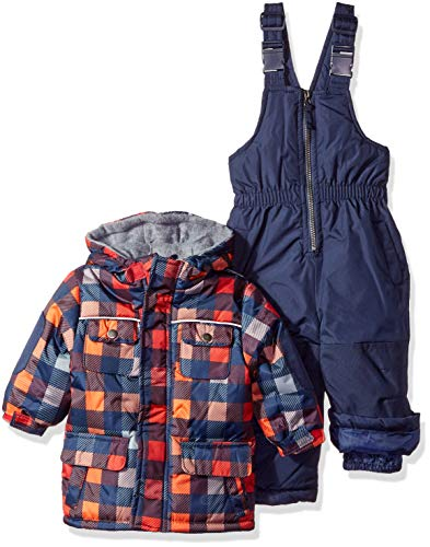 Wippette Baby Boys and Toddler Insulated Snowsuit, Buffalo Navy, 12M