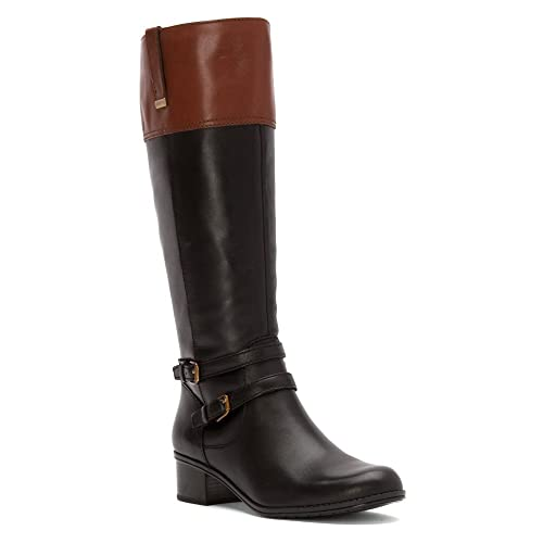 great look wide range dirt cheap Black and Brown Riding Boots: Amazon.com