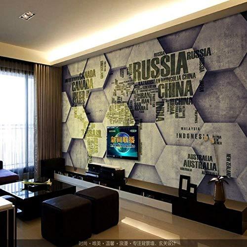 Bdhnmx-muurschildering 3D China kaart voor woonkamer muur TV instelling foto niet-geweven behangen muurschilderingen 3D 350 cm.
