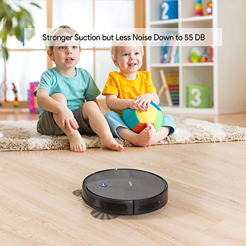 Bagotte BG600 Robot Vacuum Cleaner Mop,Upgraded 1500Pa Strong Suction, 2.7in Thin, Super Quiet, Smart Self-Charging…