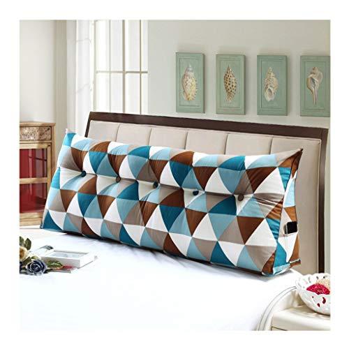Yxx max Canvas Driehoek met dubbele kop, groot kussen, slaapkamer bed Tatami achterwand woonkamer bank, meerdere maten