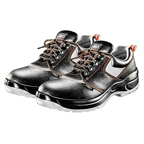 Neo 82-01 SRA SP1 Arbeitsschuhe Herrenschuhe Halbschuhe Sicherheitsschuhe Schuhe für Handwerker Schutzschuhe Lederschuhe Stahlkappe (Numeric_42)