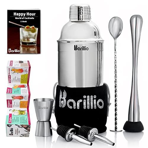 Elite Cocktail Shaker Set Bartender Kit