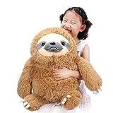 ヴェノダ ほほえみ なまけもの ぬいぐるみ 50cm 茶色 ニコニコ ナマケモノ おもちゃ 抱き枕 置物 お誕生日 記念日 贈り物