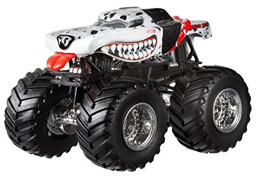 Hot Wheels Monster Jam Monster Mutt Dalmatian Die-Cast Vehicle, 1:24 Scale by Hot Wheels