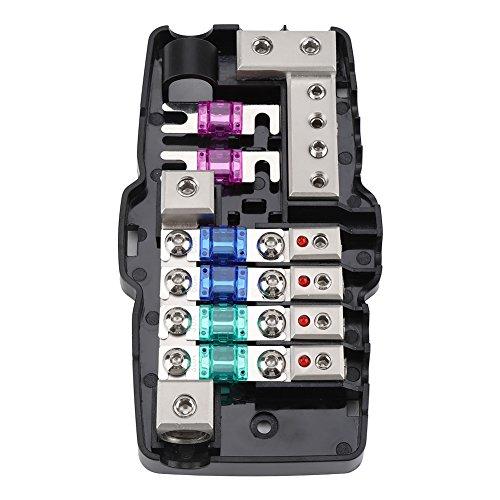 Auto Anl Auto Stereo Sicherungshalter Premium Material Auto Sicherungshalter Für Autos, Boote, Wohnmobile