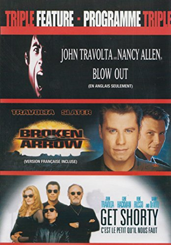 John Travolta Triple Feature (Blow Out / Broken Arrow / Get Shorty)