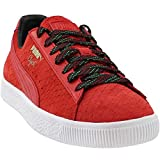 PUMA Mens Clyde GCC Risk Red/Black Synthetic Size 9.5