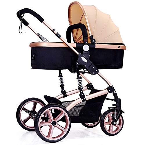 VIVOCC Carro de bebé Sistema de Viaje arnés de 5 Puntos Cochecito Plegable for recién Nacido Nacido Bebé Niños y Niñas