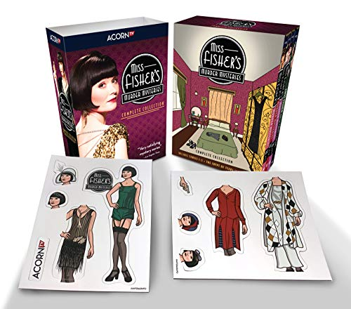 Miss Fisher's Murder Mysteries Complete Collection (series, movie, and magnet set)