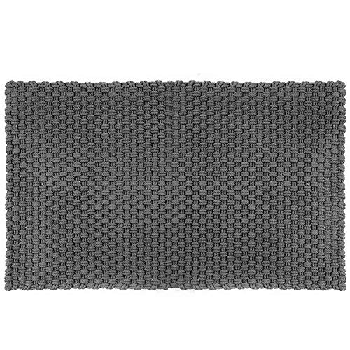 Pad - Fußmatte - Fußabtreter - Uni - Indoor/Outdoor - Stone/grau - 72 x 132 cm