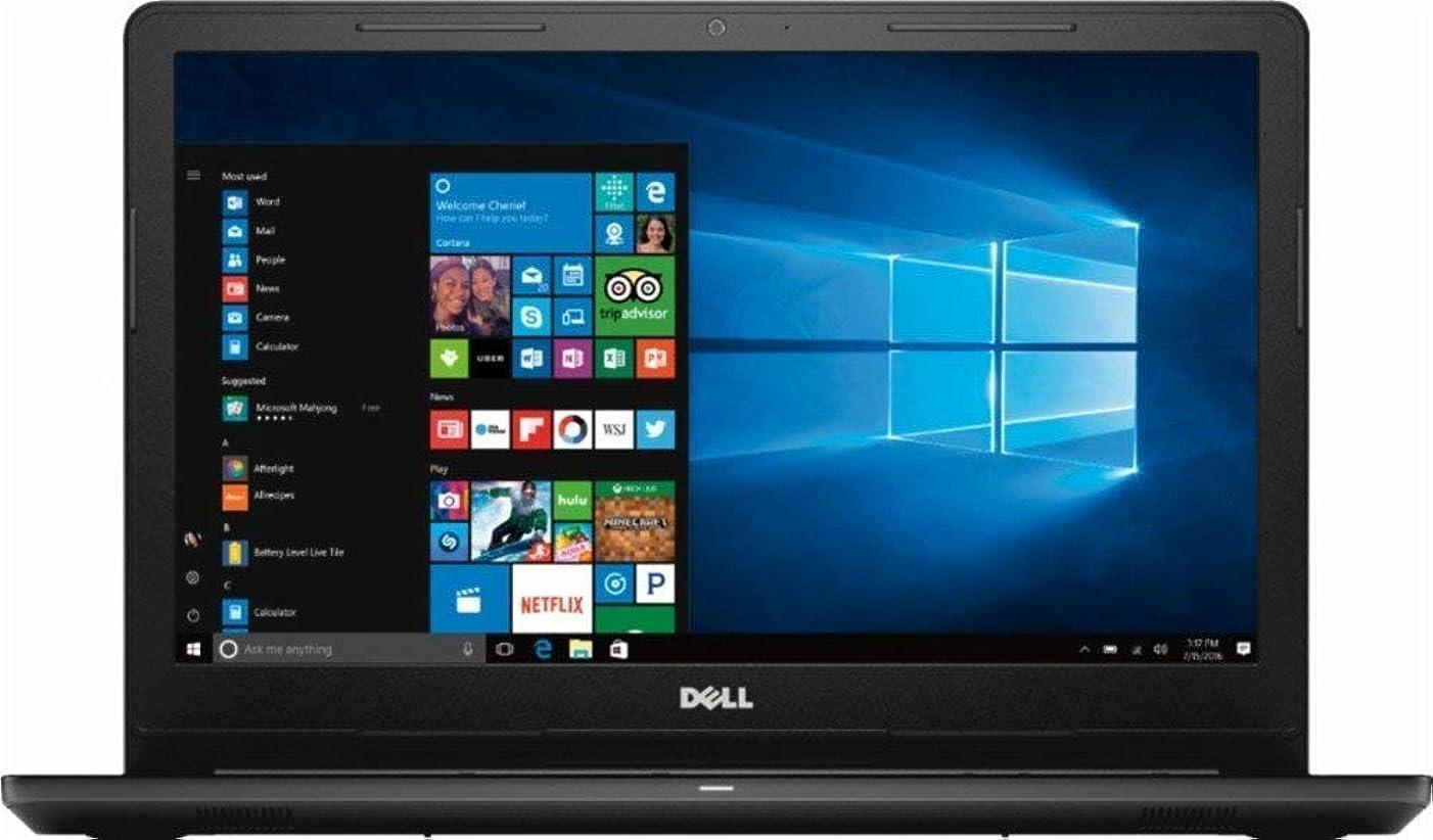 2019 Newest Dell Inspiron 15 3000 Laptop PC Computer with Intel Celeron N4000 CPU, 4GB RAM, 500GB Hard Drive, 720P Webcam, DVD R-W, HDMI, Bluetooth, Win 10 Home, Black (15.6inch N4000 4GB 500GB)