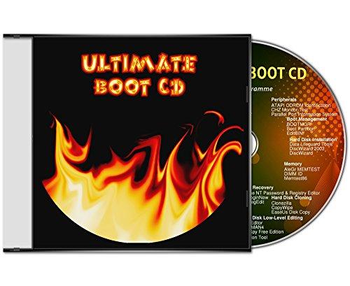 Ultimate Boot CD / logiciel d'assistance et d'aide urgente pour les systèmes d'exploitation Windows 10 / 8 / 7 / Vista / XP (32 & 64 Bit) [outils de diagnostic et de réparation du système]