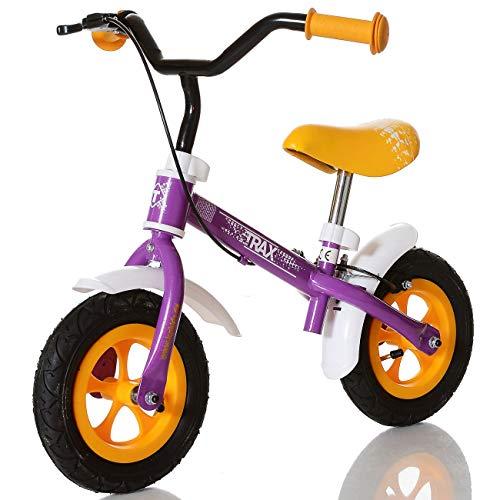 LCP Kids TRAX Draisienne enfant - velo de marche sans pedale Bicycle de balance de 2 ans, couleur: violet