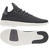 Adidas ORIGINALS Pharrell Williams Tennis Hu Baskets, Gris (Carbon/Carbon/Blatiz...