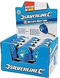 Silverline 868620 Caja Expositora con Flexómetros Measure Mate, 5 m Longitud, 19 mm Diámetro, 30 Piezas
