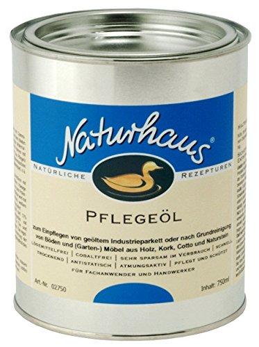 NATURHAUS NATURFARBEN 750 ml Pflegeöl, farblos