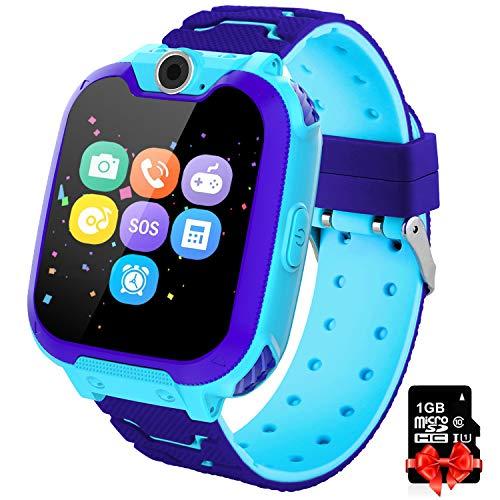 PTHTECHUS Orologio Intelligente Bambini con 7 Giochi - Musica MP3 Smartwatch Studente,...
