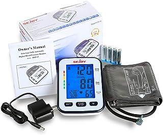 مانیتور فشار خون خودکار ، بازوی فوقانی ، صفحه نمایش دیجیتال فوق العاده بزرگ ، آسان برای استفاده ، دکمه بازوی استاندارد و بزرگ جهانی ، باتری های موجود ، سری SEJOY BSP-13…