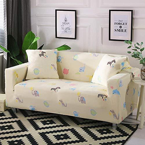 presentimer - Funda elástica para sofá de 1/2/3, de tela de poliéster y elastano, protector de muebles de sofá, 1 pieza de protector de perro para mascotas