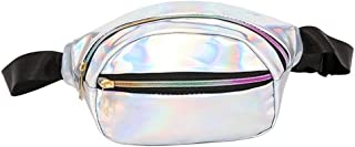 Holographic Fanny Pack for Festival, Party, Travel