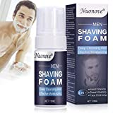 Shaving Cream Mens, Shaving Foam for Men, Men Sensitive Shaving Foam, Refreshing and Toning, Prevent Cuts and Pain, Soothes Sensitive Skin From Shave Irritation, 100ml