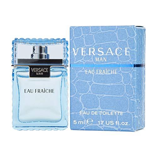 VERSACE MAN EAU FRAICHE by Gianni Versace, 0.17 Oz