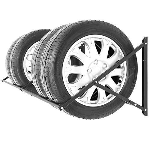 Stillerbursch Reifenregal Felgenbaum Reifenhalter Reifenwandhalter Felgenregal für 8 Räder
