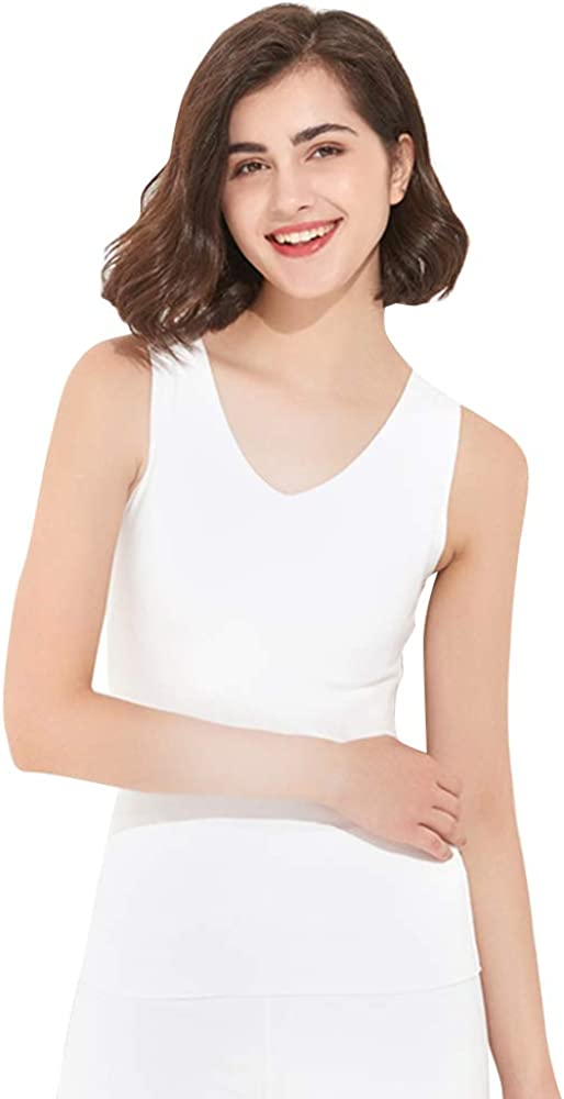 Dizadec Women's Thermal Underwear Tops,Women's Comfort Long Sleeve T-Shirt/Underscrub Tee